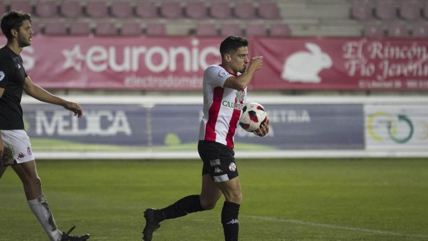 David Álvarez, protagonista con tres goles