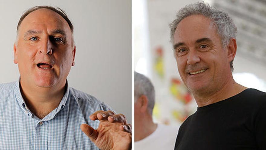 Denuncian a José Andrés y los Adrià por no pagar el salario estipulado en Nueva York