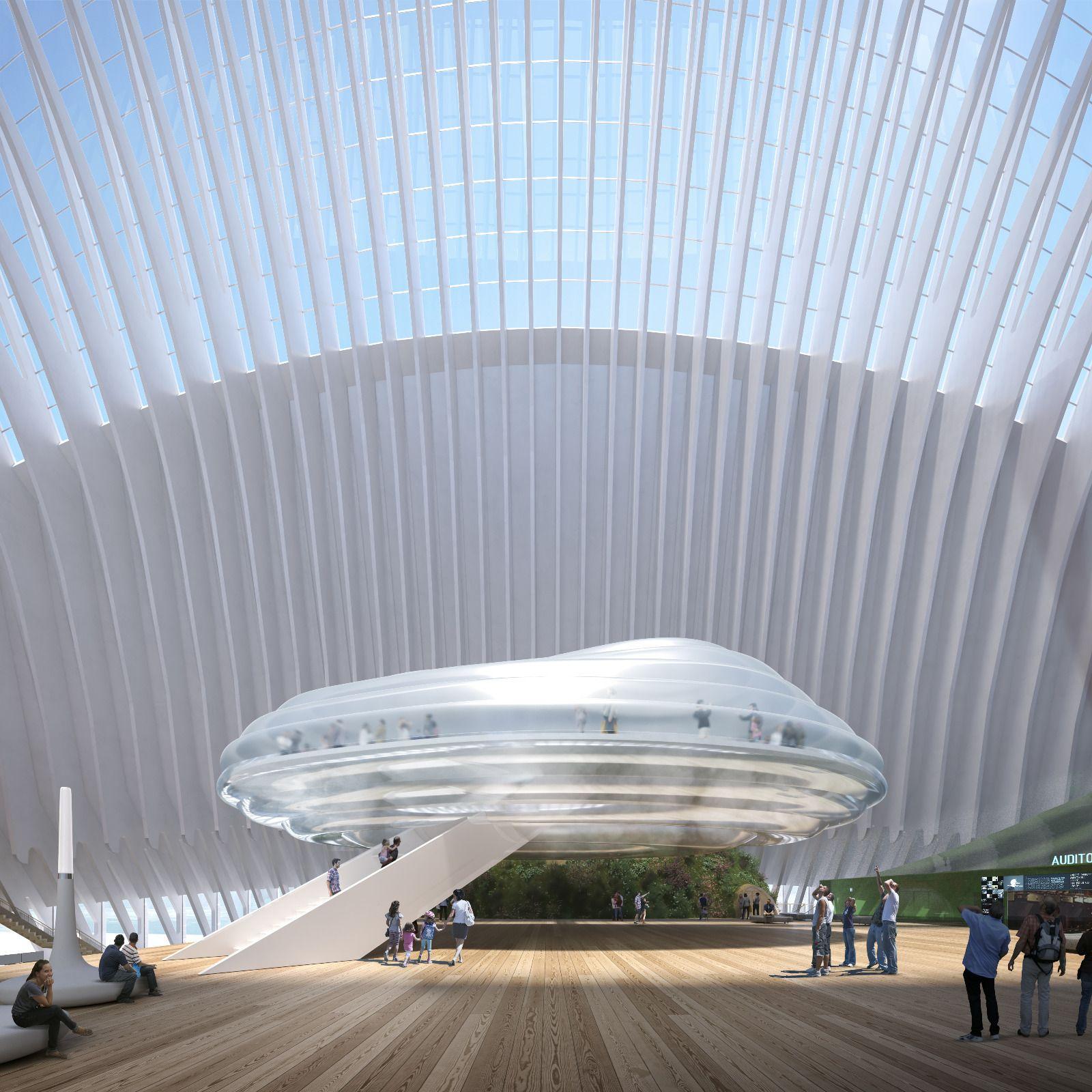 Así será el futuro Caixaforum en el Àgora