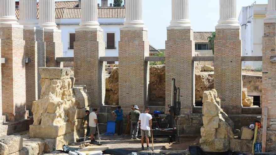 La obra del Templo Romano vuelve a acumular más retraso