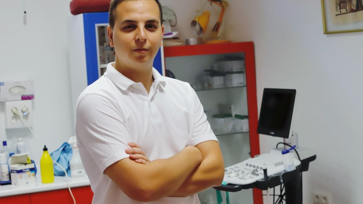 Paco Cascales, estudiante de la UMU y graduado en Fisioterapia