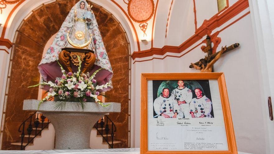 La Virgen de Luna de Pozoblanco en la NASA