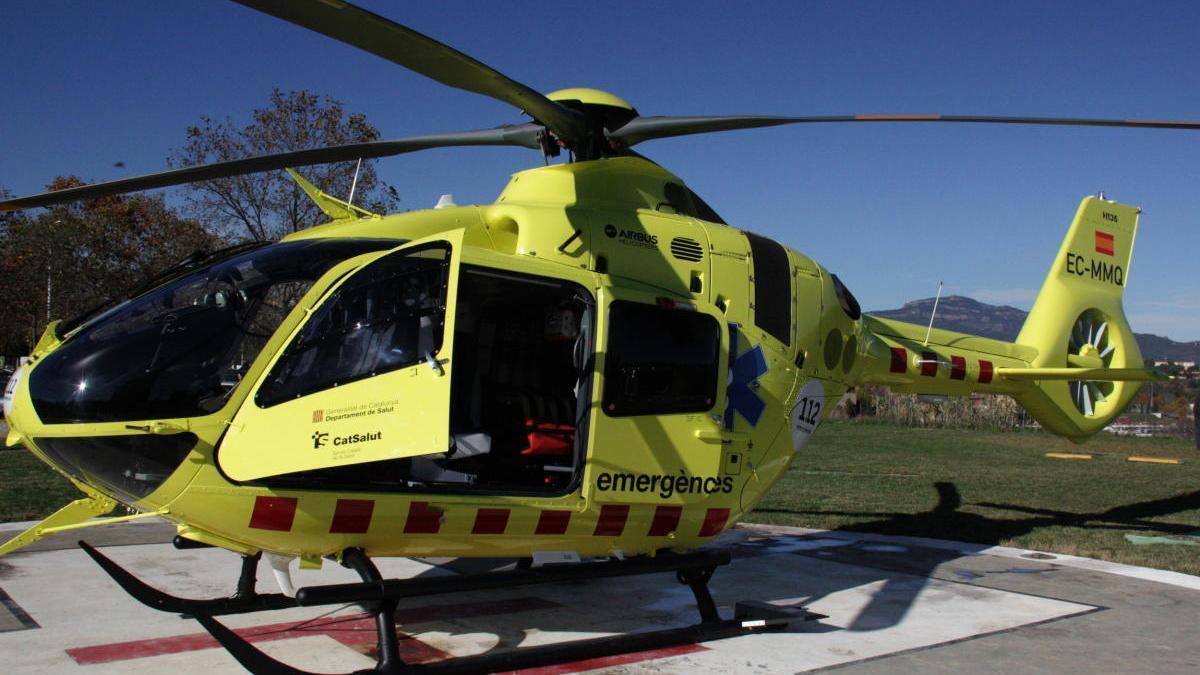 L'helicòpter del SEM, en una imatge d'arxiu