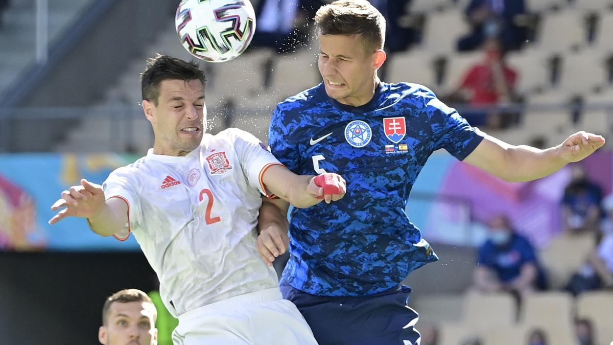 Eurocopa | Eslovaquia - España, en imágenes