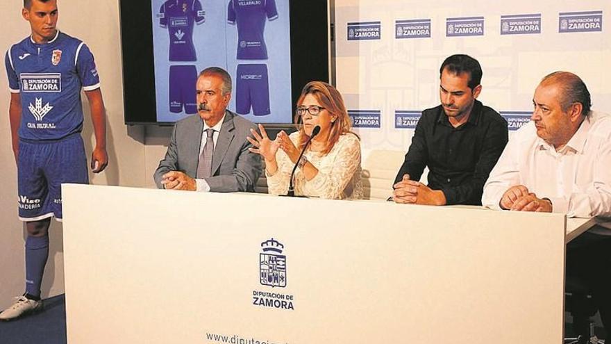 El CD Villaralbo presenta su nueva equipación