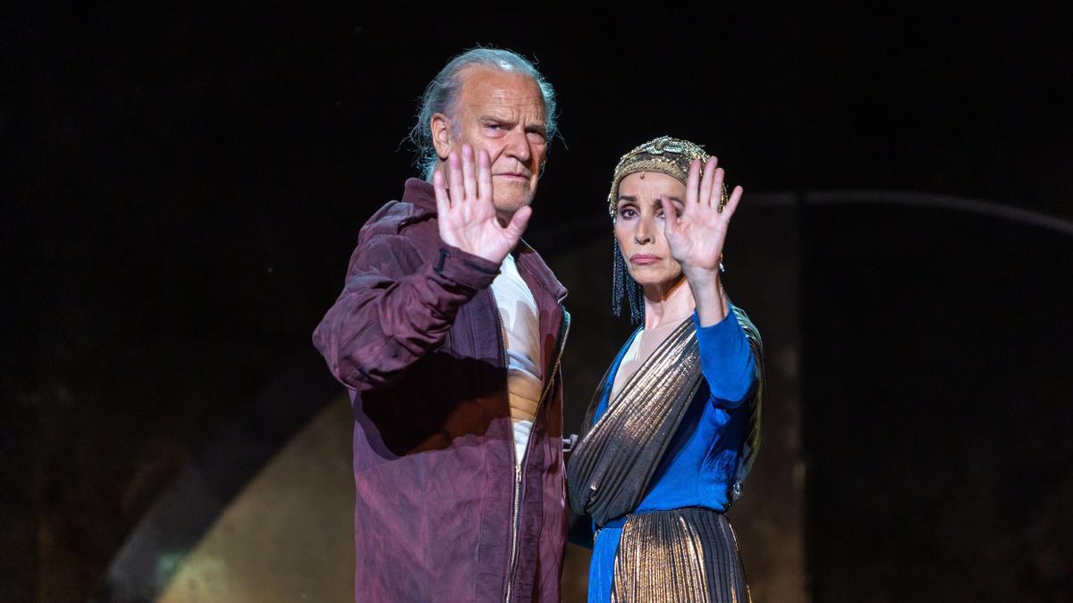 Un 'Antonio y Cleopatra' emocionante