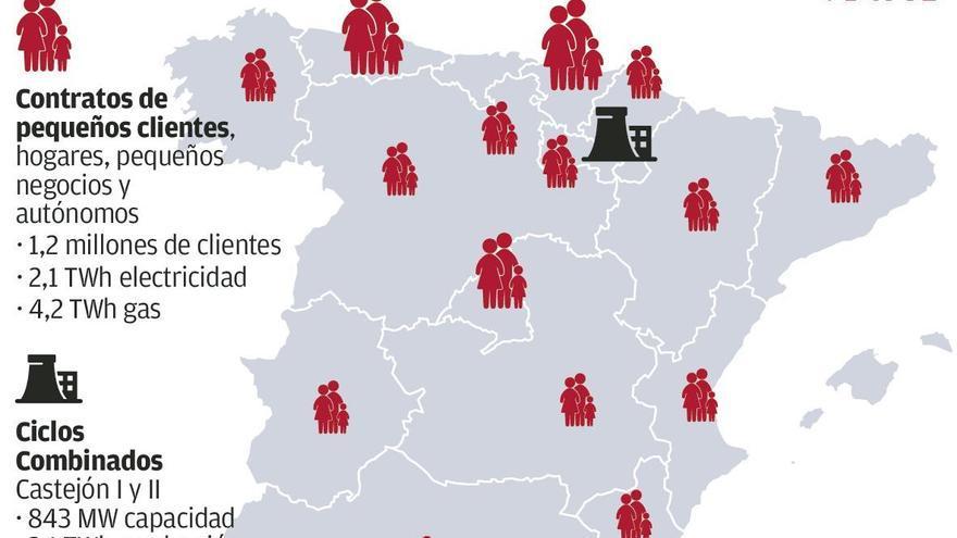 Bruselas da luz verde al traspaso de 500.000 clientes de EDP en Asturias a Total