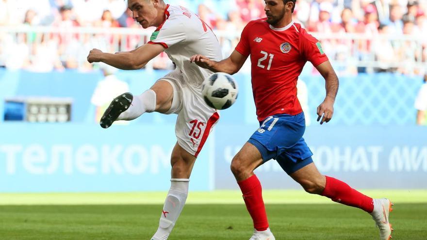 Keylor Navas no fue suficiente para salvar a Costa Rica ante Serbia
