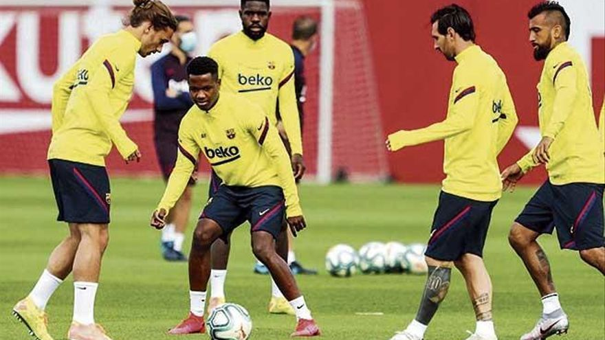 El once del Barça da miedo