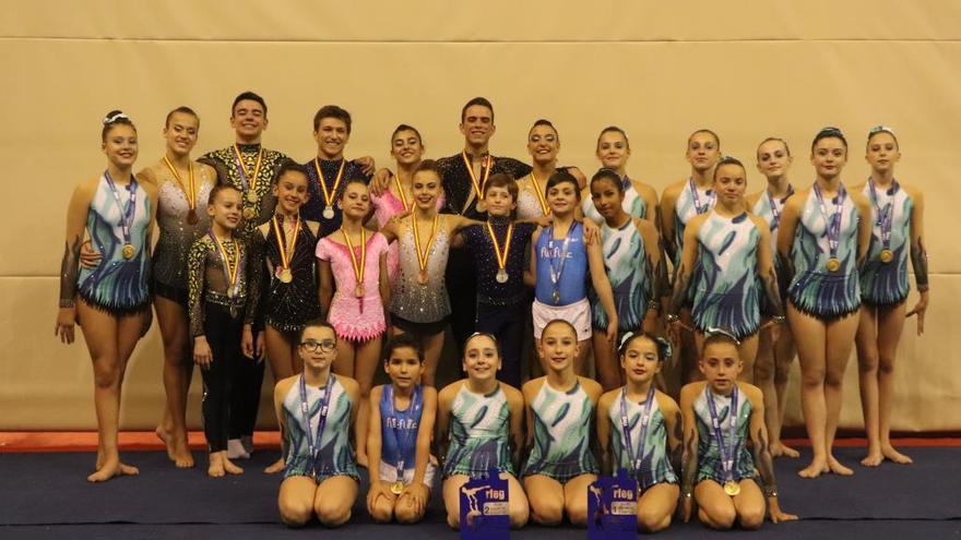El Flic Flac se luce en el Nacional con 24 medallas
