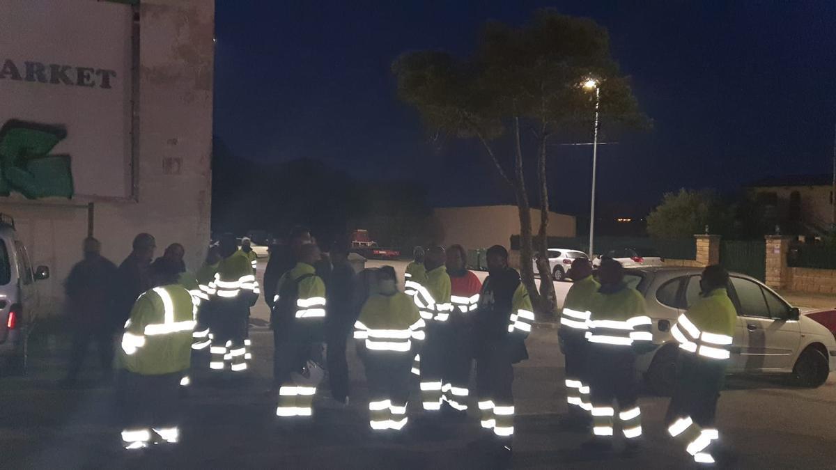 Huelga de basuras en sa Pobla y Alcúdia.