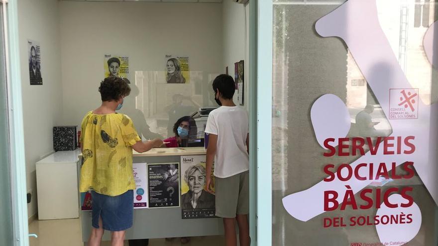 Una de cada cinc persones del Solsonès va ser atesa pels Serveis Socials l'any 2020