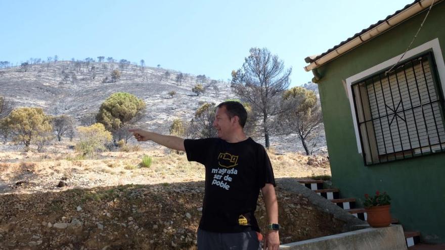 Extinguido el incendio de Beneixama tras arrasar 900 hectáreas