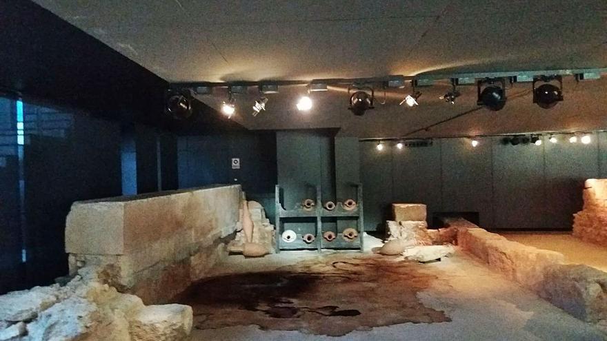 Goteras e inundaciones  en el museo de l'Almoina