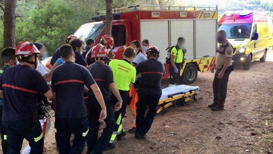 Muere la niña rescatada de un embalse en Castelló