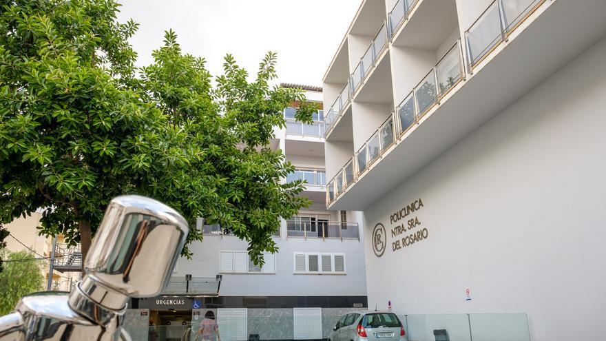 Un motorista ingresa en la Policlínica con un traumatismo craneoencefálico tras sufrir una caída en Ibiza