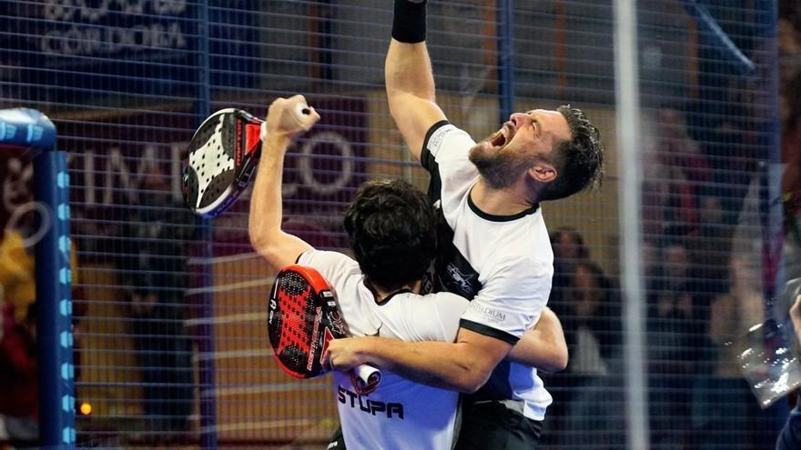 Mati Díaz y Franco Stupaczuk ganan la final en Córdoba del World Padel Tour