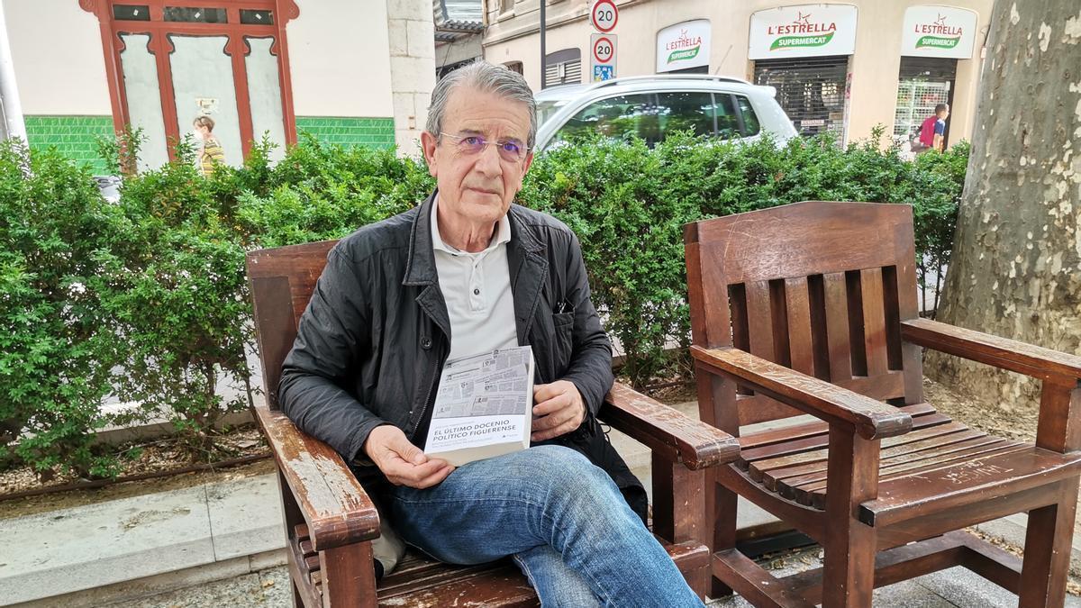 José Luis Torres a la Rambla de Figueres