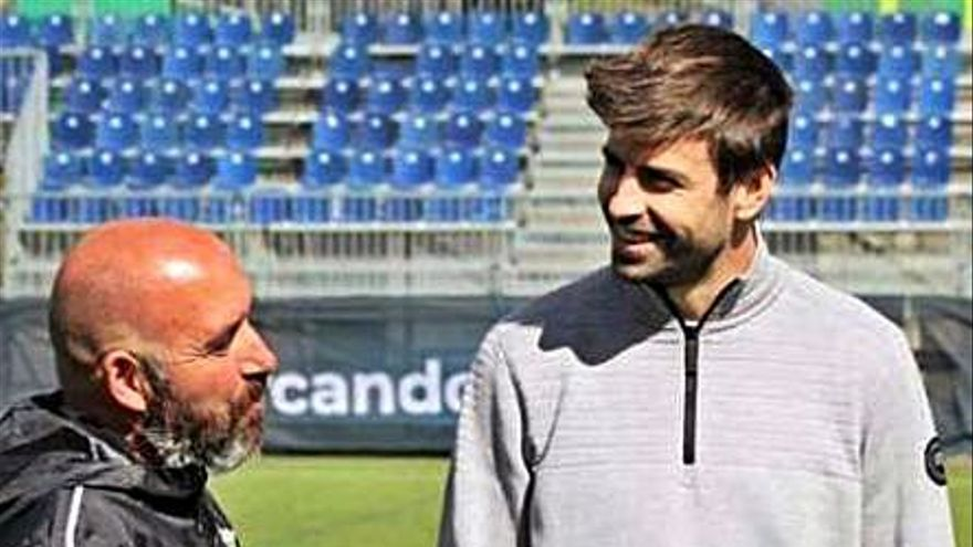 Piqué echa del Andorra al asturiano Nacho Castro y nombra a Sarabia