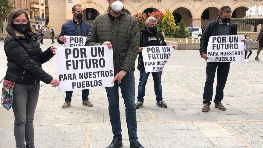 """Nueve municipios respaldan los complejos eólicos en Teruel para """"tener un futuro"""""""