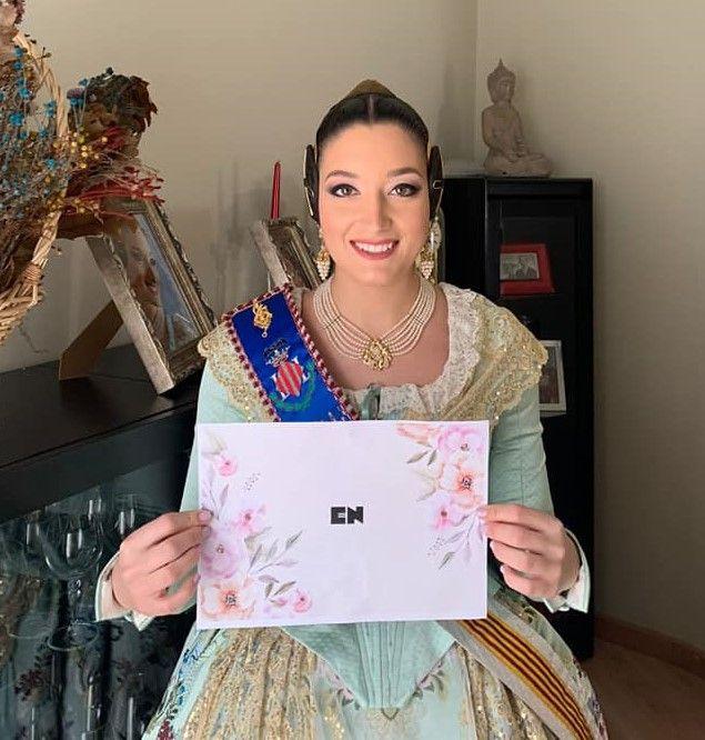 El emotivo mensaje de Consuelo y la corte al acabar las Fallas Virtuales 2021