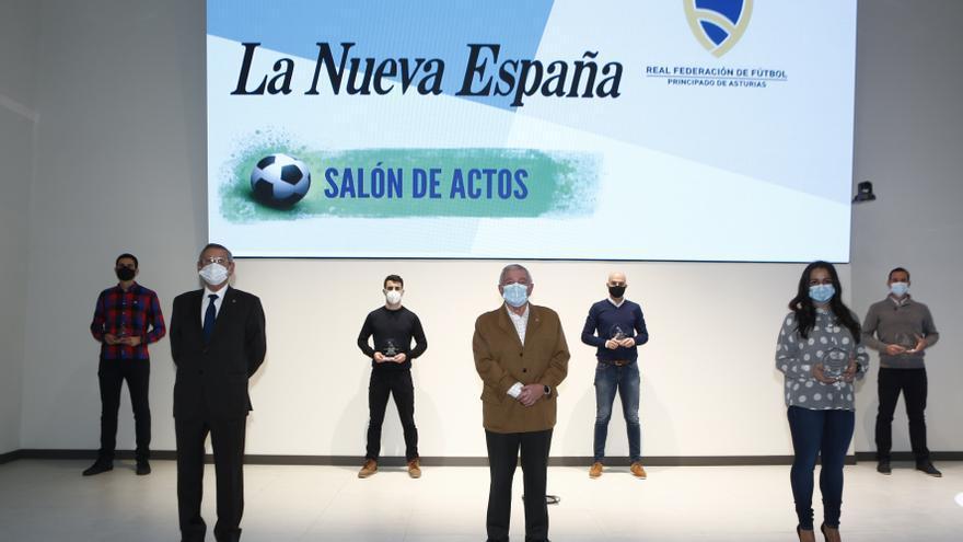 Premios LA NUEVA ESPAÑA a los mejores del fútbol asturiano