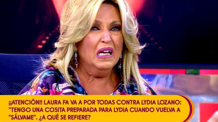 """Lydia Lozano, a las puertas de irse de Sálvame: """"¿Qué hago yo en este programa?"""""""