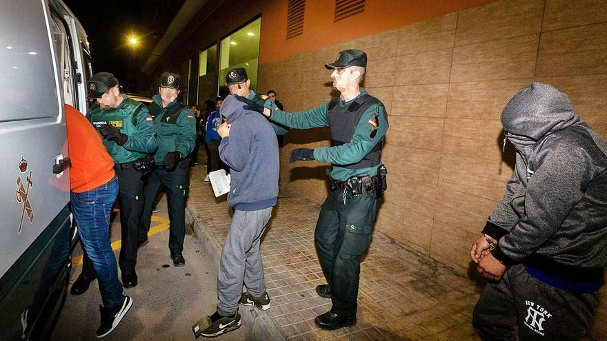 La manada de Callosa d'en Sarrià negocia declararse culpable para rebajar las penas