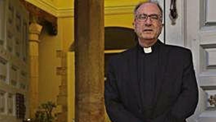 """José Francisco Matías Sampedro, administrador diocesano de Zamora: """"No podemos quedarnos haciendo lo de siempre, la sociedad evoluciona cada año"""""""