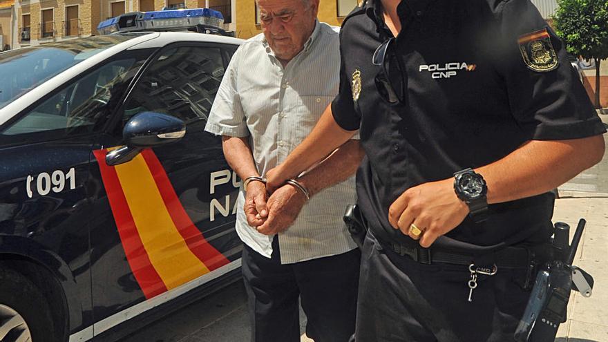 La juez manda a prisión al hombre que mató a Manuel Leal en su huerto