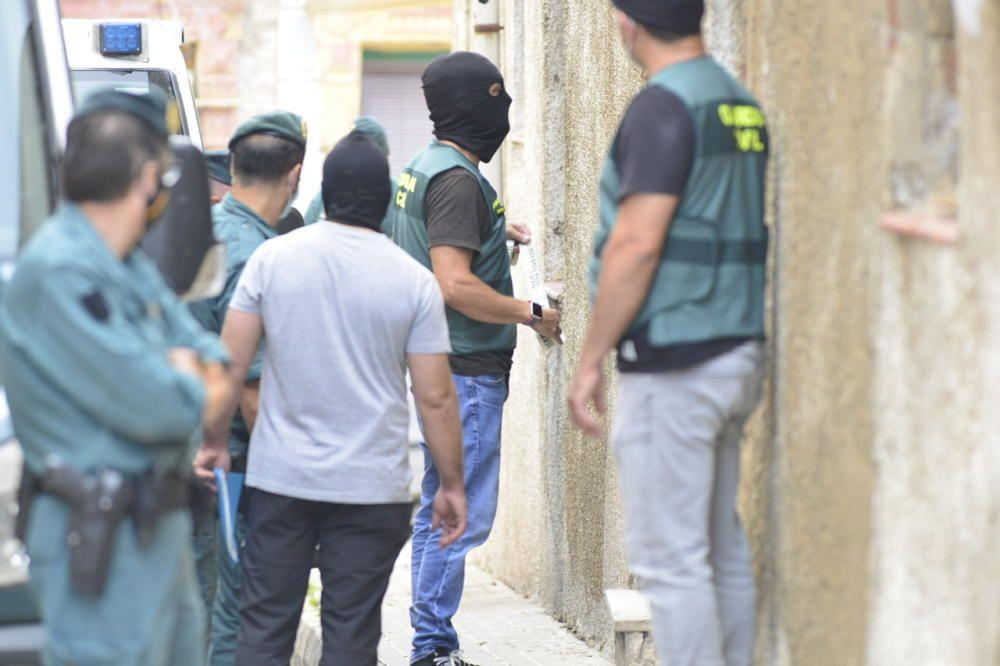 Macrooperación policial contra el narcotráfico en Cartagena