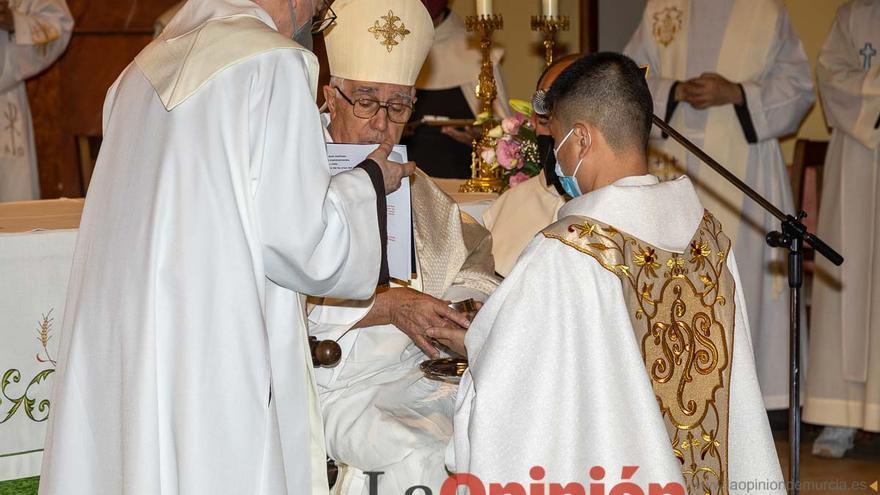 Ordenación sacerdotal en Caravaca de Daniel Bae de la Cruz ocd