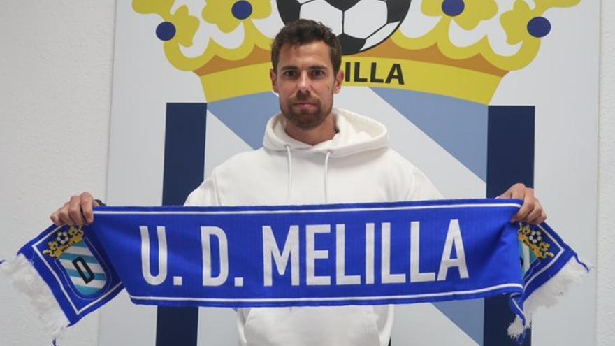 El Melilla ficha a Marcos García