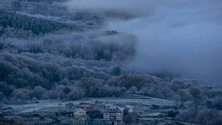 Persiste el frío polar y la cota de nieve bajará a 300 metros