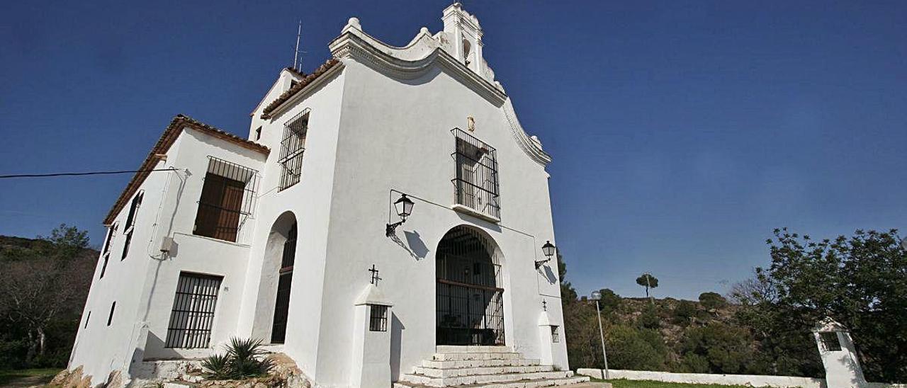 L'ermita de Santa Anna, a Gandia.