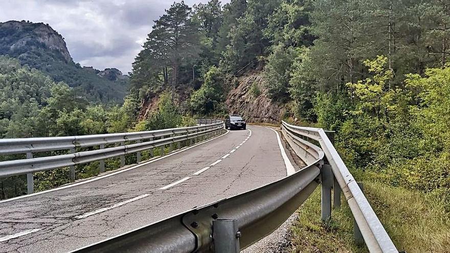 Borredà vol que s'executi el projecte de millora de la C-26 fins al municipi