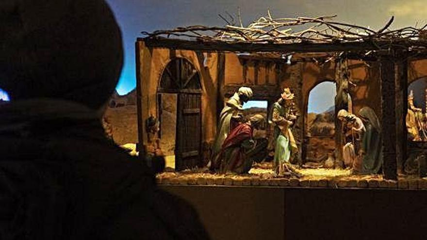 San Lázaro y sus figuras de Olot