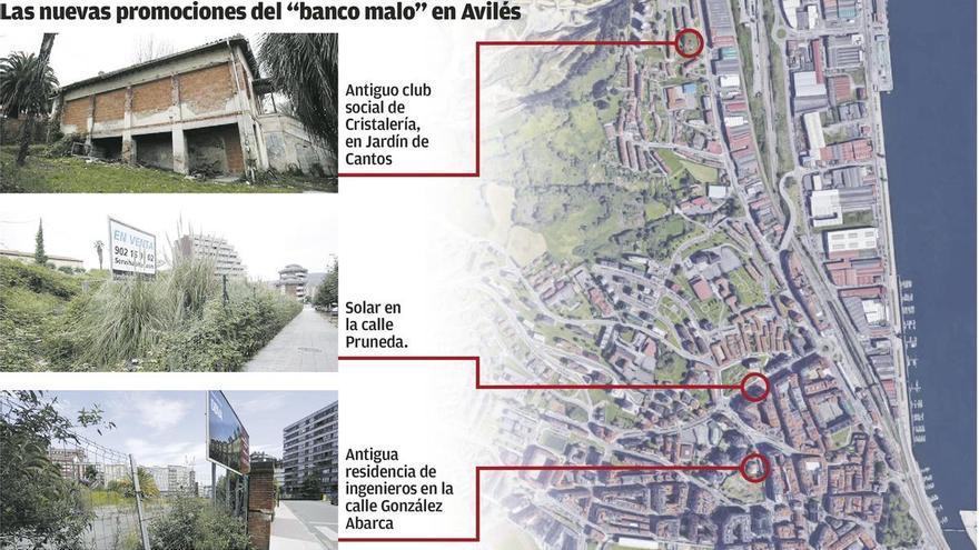 """El """"banco malo"""" prevé construir 350 pisos en Avilés en los próximos siete años"""