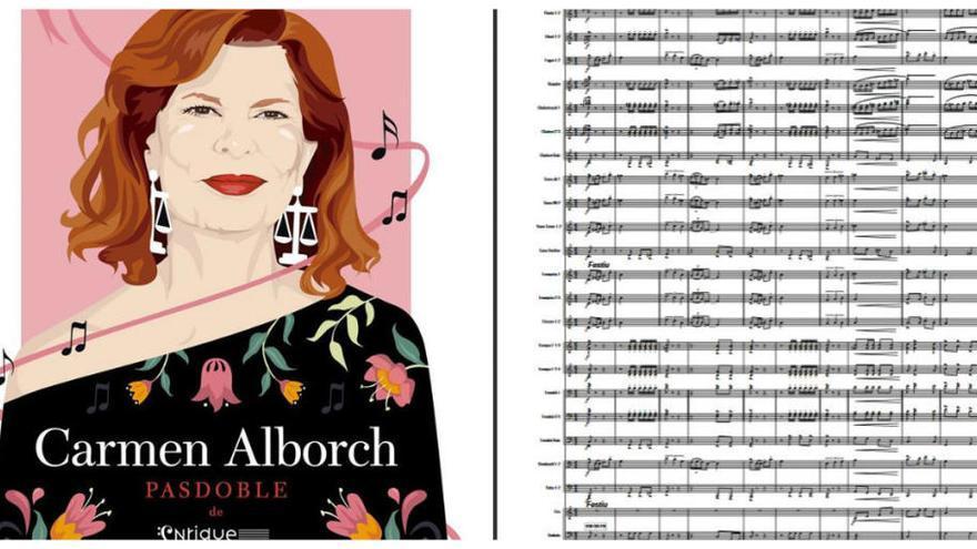 """El pasdoble """"Carmen Alborch"""" arriba a les bandes musicals"""