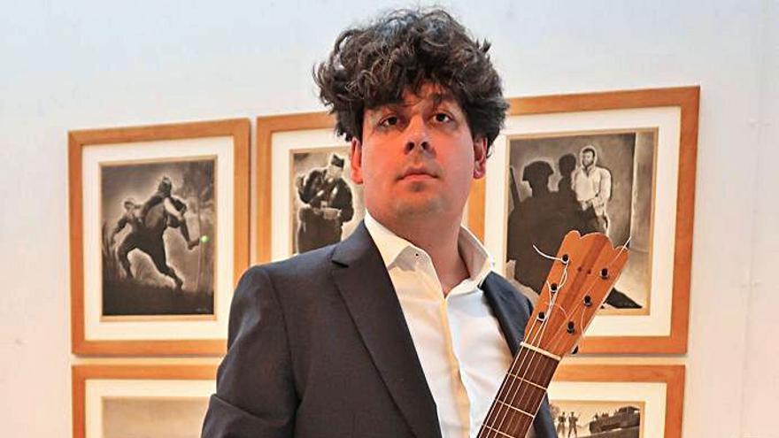 Composiciones inéditas de Xosé Chas suenan en el Museo de Pontevedra