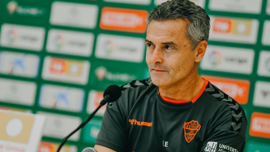 Fran Escribá: «Podemos hacerle daño al Sevilla si hacemos un partido muy bueno»
