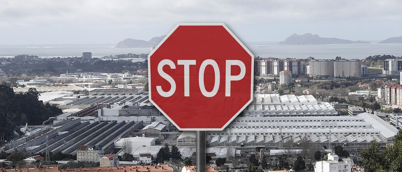 Imagen de fondo: Planta de Stellantis en Vigo