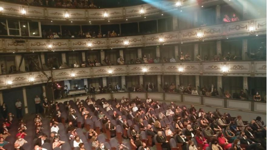 Gala de entrega de los Premios Max 2020 en el Teatro Cervantes