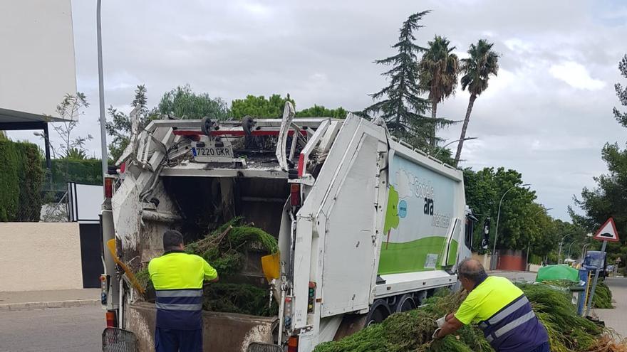 Godella reforzará los trabajos de limpieza viaria en Campolivar
