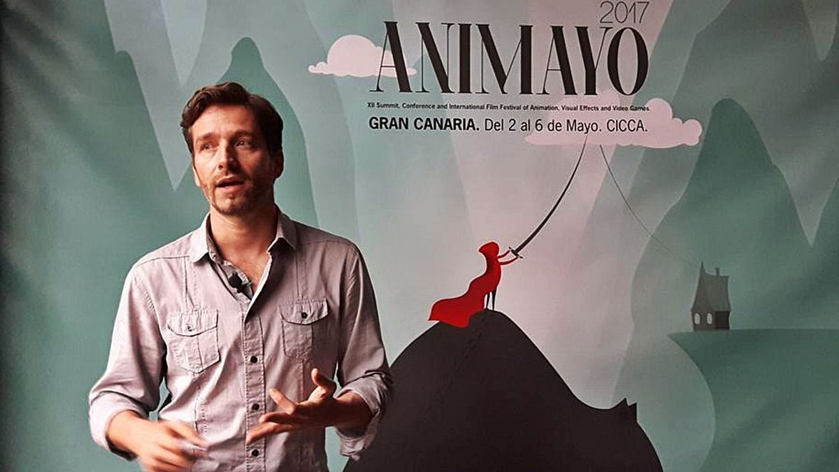 Damian Perea, director of Animayo, in the last edition of 2017. |  |  LP / DLP