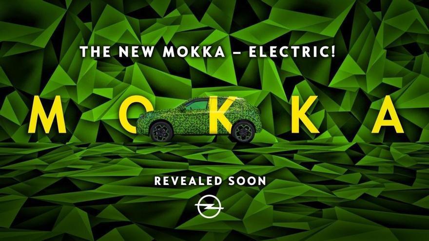 Opel confirma que el nuevo Mokka llegará en 2021 y será eléctrico