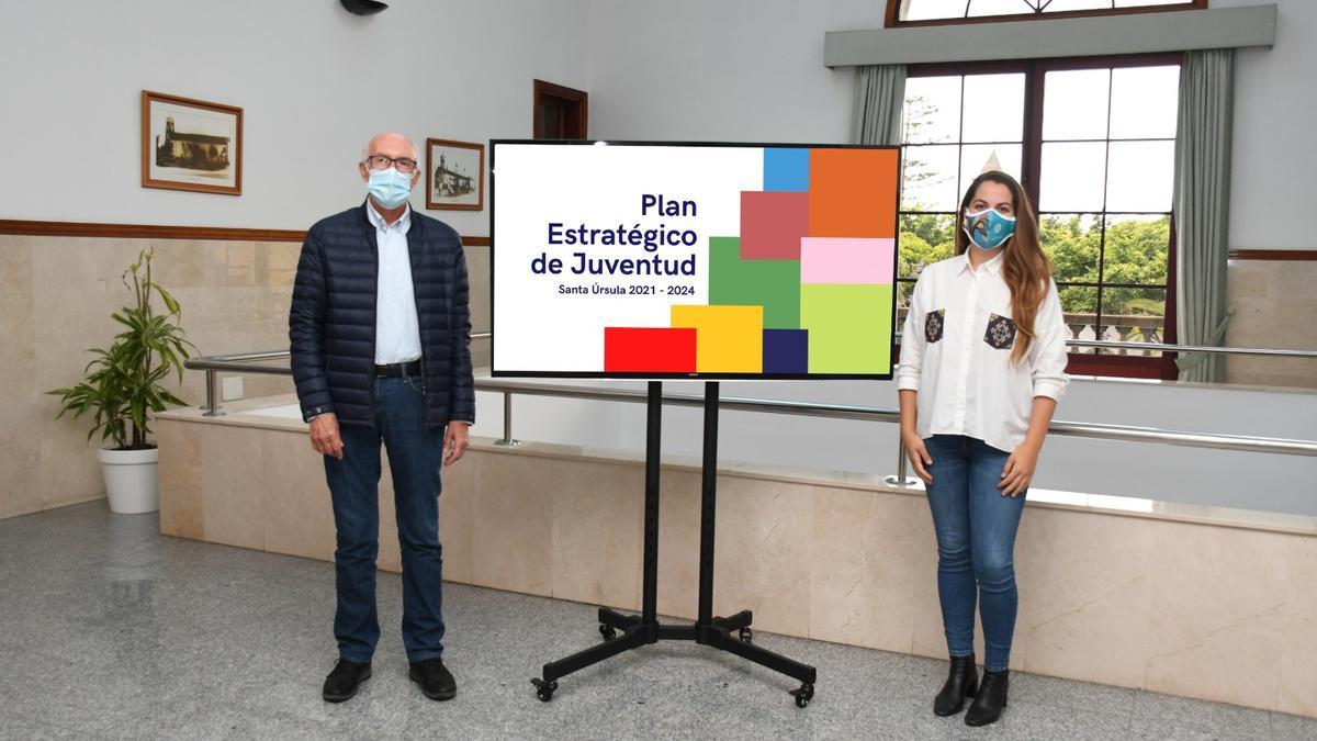 Juan Acosta y Salomé Fernández