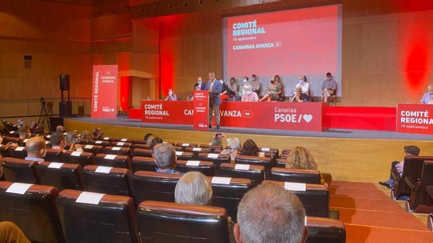 """Torres confirma su candidatura a la reelección como secretario general del PSOE para """"recuperar bien a Canarias"""""""