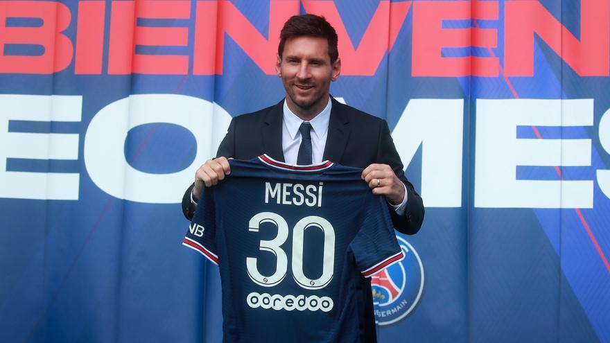 """Messi: """"Mi objetivo es poder volver a levantar otra Champions y creo que caí en el lugar ideal"""""""