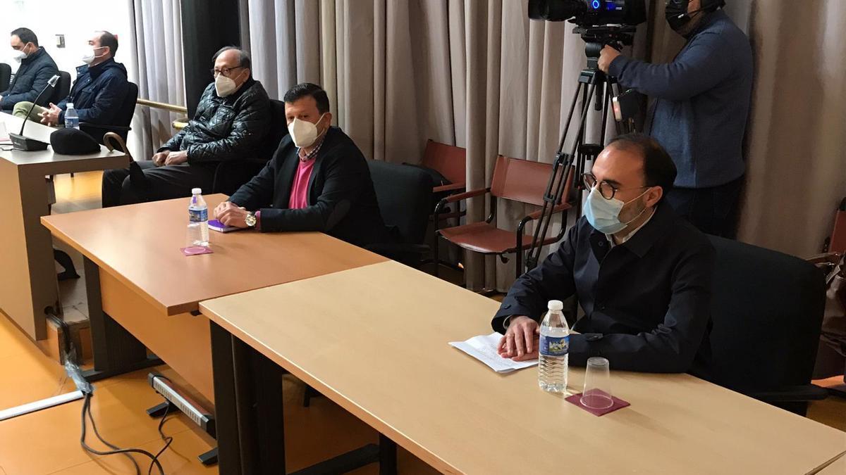Imagen del Pleno en el que se tomó la decisión recurrida.